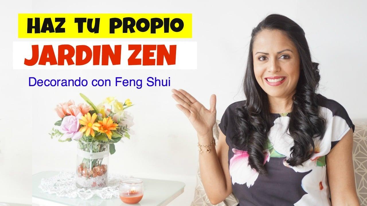 Como Hacer un Jardin Zen con Feng Shui en Casa